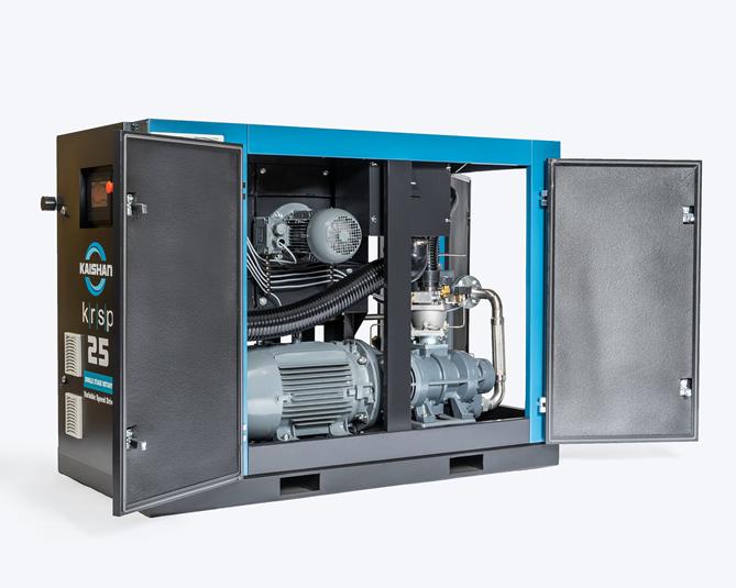 Compresor 75 hp puede producir 218 litros de humedad al día.
